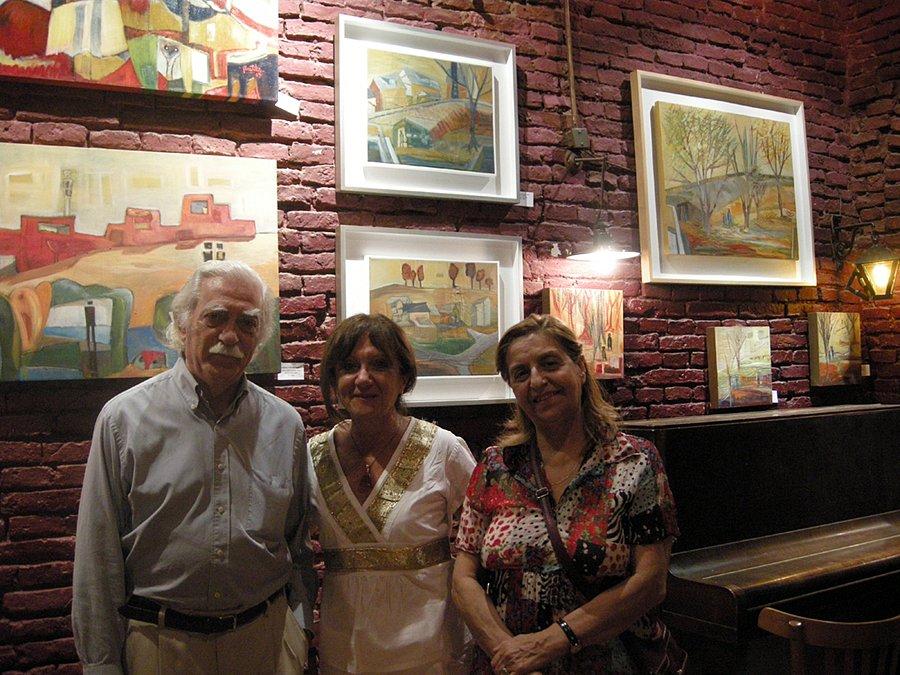 Fundación Bollini. Eduardo Giussiano y Susana