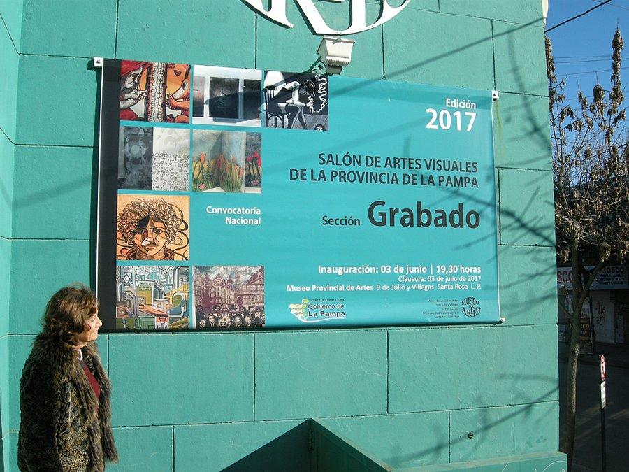 Seleccionada Salon de Grabado. Pcia De La Pampa. 2017