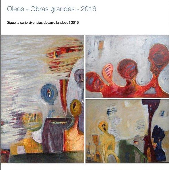 Oleo Serie Vivencias