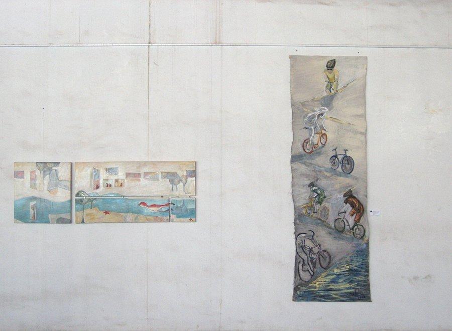 Pintura expuesta. Muestra MOCAVI