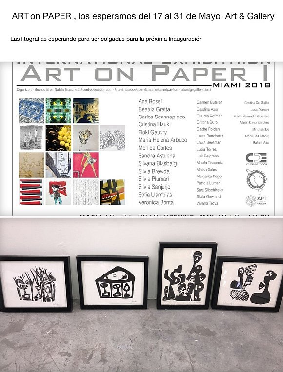 Art on paper. ART&Gallery Miami 2018
