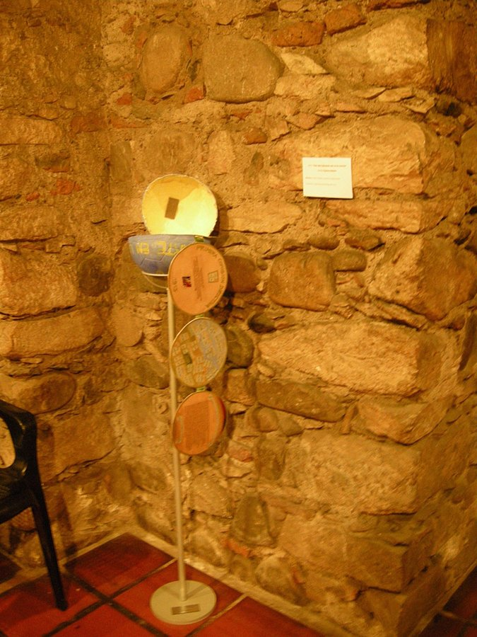 Libros Objetos. Cripta Jesuitica.